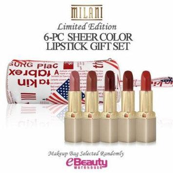6PC GIFT SET-MILANI Sheer Color Lip Stick