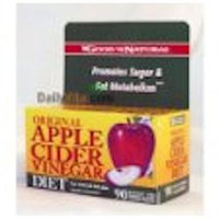 Good 'N Natural - Original Apple Cider Vinegar Diet - 90 Tablets Contains Apple Pectin