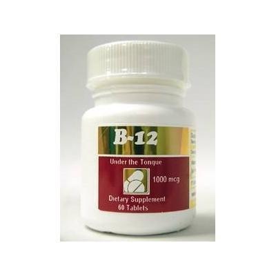 Intensive Nutrition, Inc. - B-12 Hydroxycobalamin 1 mg. - 60 Tablets