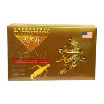 American Ginseng Root Candy Gold Gift Box 8 Oz