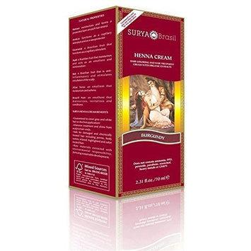Surya Henna Henna Burgundy Cream Surya Nature, Inc 2.31 oz Cream