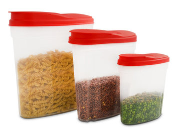 Ragalta 3 Piece Plastic Container Set