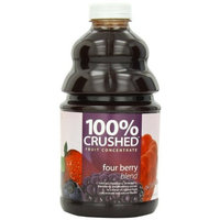 Dr. Smoothie 100% Crushed Fruit Smoothie, Four Berry, 46-Ounce Bottles (Pack of 2)