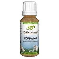 Native Remedies PFCV001 PetAlive FCV Protect to Temporarily Relieve Feline Flu Symptoms 20g