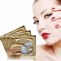 Silvercell Crystal Collagen Eye Mask Sheet Packs Anti Wrinkles,Dark Circles,Bag