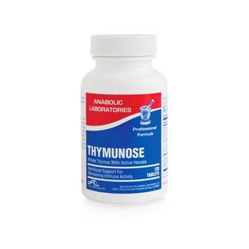 Anabolic Laboratories, Thymunose Immune Formula, 120 Tablets