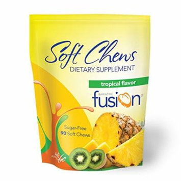Bariatric Fusion Dietary Supplement Soft Chews Tropical 90 Count