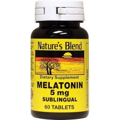 Melatonin 5 mg Sublingual Tablets 60 CT (PACK OF 2)