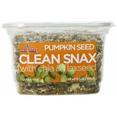 Melissa's Pumpkin Seed Clean Snax with Chia and Flax Seed, 6.5 Ounce