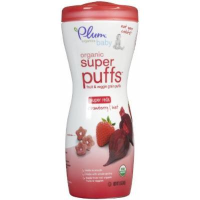 Plum Organics Super Puffs - Strawberry & Beet - 1.5 oz