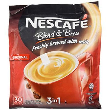 Nescafe 3 in 1 Instant Coffee Original Flavored 30 Sticks, 2 packs