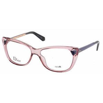 Christian Dior Women's Eyewear Frames CD 3286 53mm Transp Pink Matte Blue 6ML