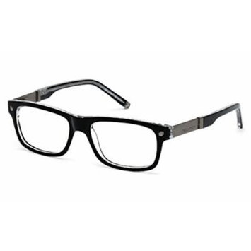 Dsquared2 Men's DQ5103 Wayfarer Acetate Frames BLACK 52