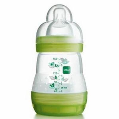 Mam 160Ml Ultivent Bottle Single Pack Green