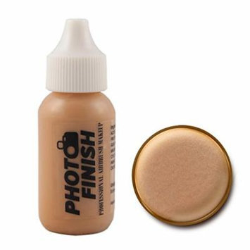 Photo Finish Professional Airbrush Foundation Makeup-1.0 Oz Cosmetic Face- Choose Color (Medium -Luminous)