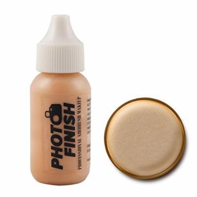 Photo Finish Professional Airbrush Foundation Makeup-1.0 Oz Cosmetic Face- Choose Color (Fairly Light -Luminous)