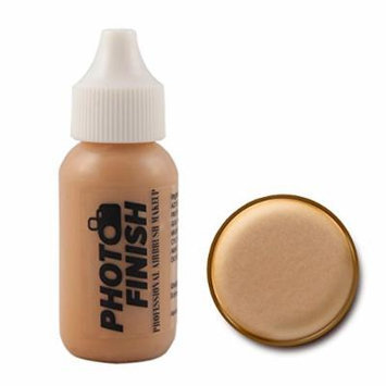 Photo Finish Professional Airbrush Foundation Makeup-1.0 Oz Cosmetic Face- Choose Color (Medium Beige- Luminous)