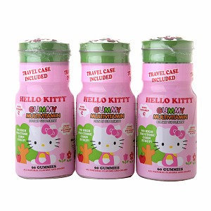 Hello Kitty Gummy Multivitamin