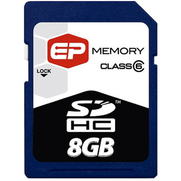 EP Memory EP 8GB SDHC (Secure Digital High Capacity) Class 6 Cards
