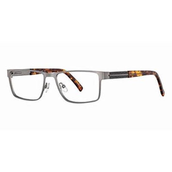 Eddie Bauer Designer Reading Glass Frames EB8271 in Gun-Metal ; Demo Lens