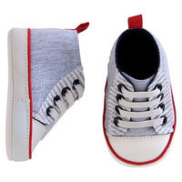 Just One You™ Made by Carter's® Baby Boys' Midtop Sneaker - Grey
