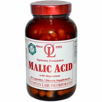 Olympian Labs Malic Acid with Magnesium 90 Vegetarian Capsules