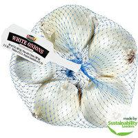 Fresh 1: Onions White Cebollas Blancas, 2 Lb