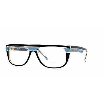 Chloe 22 8361 Black and Blue Authentic Women Vintage Eyeglasses Frame