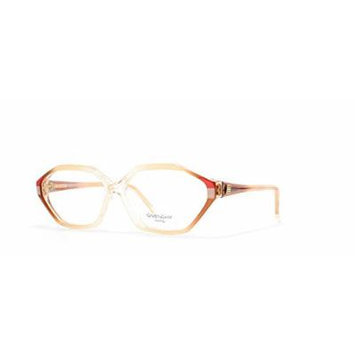 Givenchy 866 007 Clear and Red Authentic Women Vintage Eyeglasses Frame