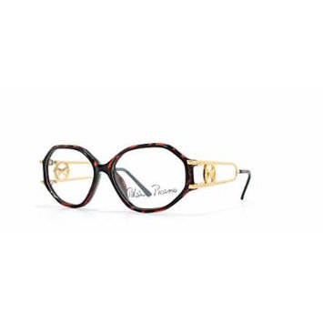 Paloma Picasso 3762 30 Red Authentic Women Vintage Eyeglasses Frame