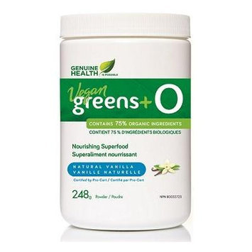 greens+ O Organic Vegan Vanilla (248g) (greens plus o) Brand: Genuine Health