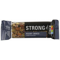 Strong & Kind Almond Protein Bar, Hickory Smoked (Pack of 12)