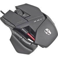 CybOrg Technologies Mad Catz MCB4370300C2/04/1 R.A.T.3 Optical Mouse, Glossy Black
