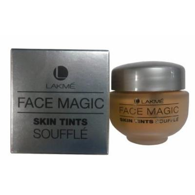 Lakme Face Magic Skin Tints Souffle Foundation (Natural Shell) + Free Gifts + Free Shipping - by Indian Goodness