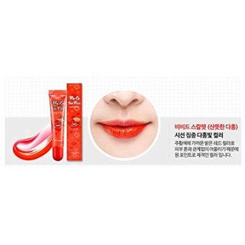 BERRISOM Chu My Lip Tint Pack, New upgraded Season 3, Made in Korea, Korean Cosmetics (Vivid Scarlet)