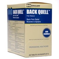 Medique/Otis Clapp 1615587 Back Quell Pain Relief Coated Tablets, 150-Packets