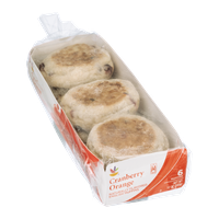 Ahold Cranberry Orange English Muffins - 6 CT