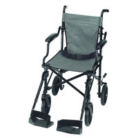 Mabis Folding Lightweight Transport Chair
