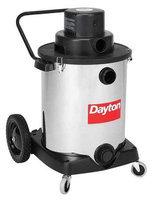 DAYTON 22XJ50 Wet/Dry Vacuum, 3 HP, 16 gal, 120V