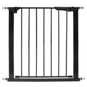 KidCo Auto Close Gateway Pressure Mounted Gate, Black, 1 ea