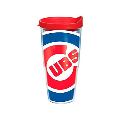 Tervis Chicago Cubs Wrap Tumbler with Red Lid