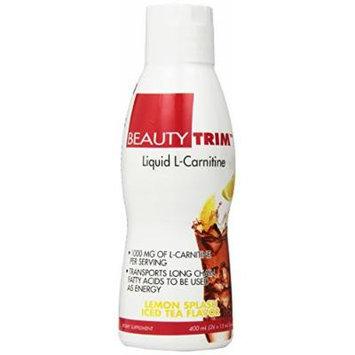 Beauty Fit Trim Liquid Carnitine, Lemonade Splash Iced Tea, 13.5 Ounce