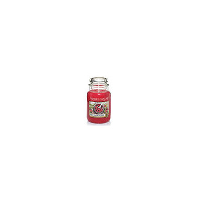 Yankee Candle Red Raspberry Large Jar Candle, Red