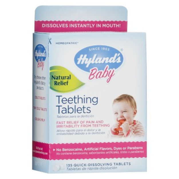 Hyland's Baby Teething Tablets Reviews