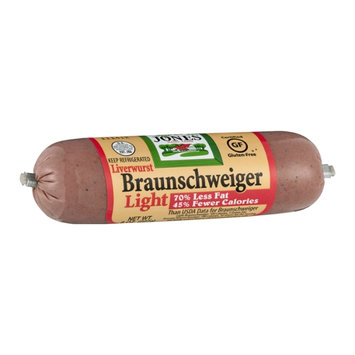 Jones Dairy Farm Braunschweiger Liverwurst Light