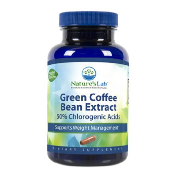 Nature's Lab Green Coffee Bean Extract, 400mg, Vegetarian Capsules
