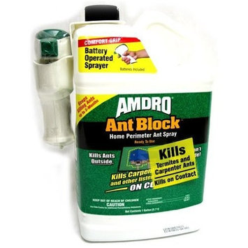 Central Garden Amdro Ant Block Ready to Use Home Perimeter Ant Spray, 1-Gallon (Discontinued by Manufacturer)
