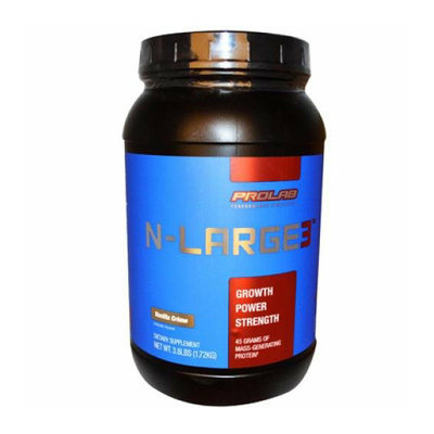 ProLab Nutrition N-Large3 Mass-Generating Protein Vanilla Crme 3.8 lbs
