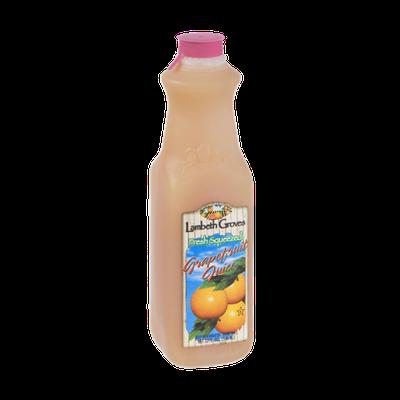 Lambeth Groves Fresh Squeezed Grapefruit Juice