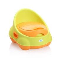 Lil' Jumbl Colorful Baby Potty - Perfect Mommy's Helper for Potty Training - Green